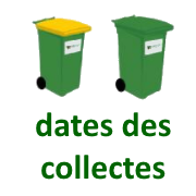 square dates des collectes